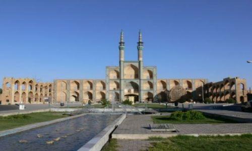 Zdjecie IRAN / Yazd / Kompleks Amir Chakmag / Amir Chakmag Complex