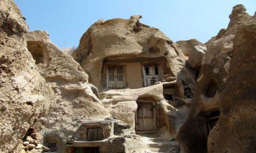 Zdjęcie IRAN / Kandavan / ulica / Miasto w skałach wykute