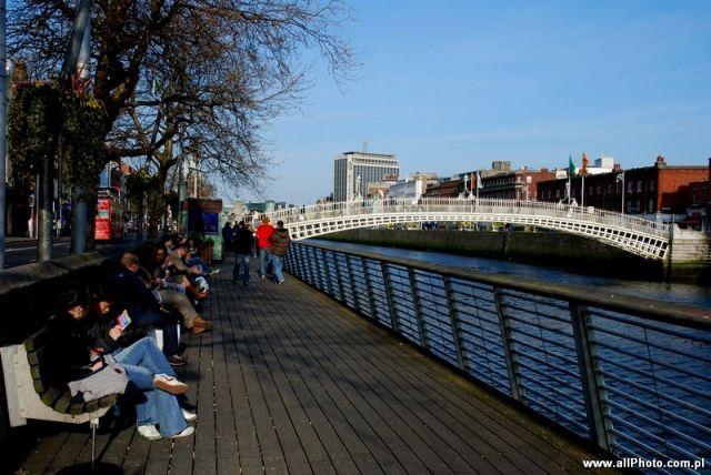 Zdjęcia: Dublin, The Liffey boardwalk, IRLANDIA