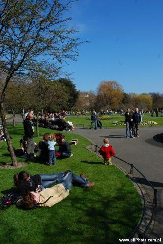 Zdjęcia: Dublin, Saint Stephen's Green Park, IRLANDIA