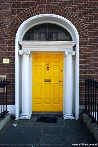 Zdjęcia: Dublin, Dublin's doors, IRLANDIA