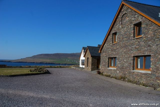 Zdjęcia: Dublin, Kerry, Houses of Dingle Peninsula, Kerry, IRLANDIA