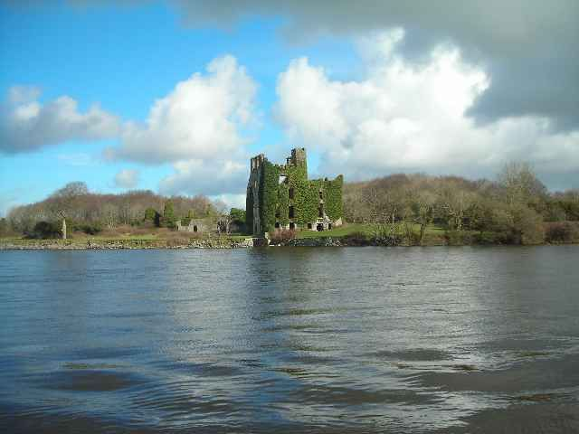 Zdj�cia: Galway, Hrabstwo Galway, Zameczek nad Lough Corrib, IRLANDIA