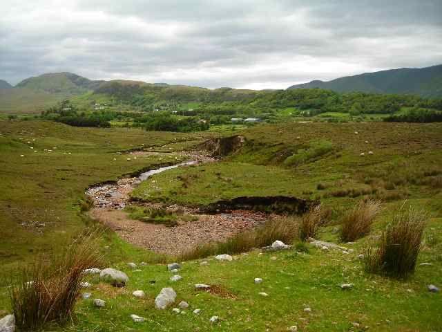 Zdjęcia: Connemara, Hrabstwo Galway, Gory Maumturk, IRLANDIA
