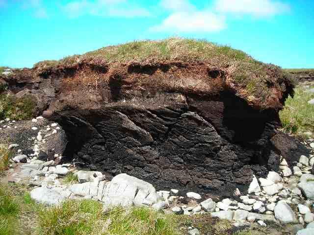 Zdjęcia: Gory Partry, Hrabstwo Mayo, Torfowy ostaniec, IRLANDIA