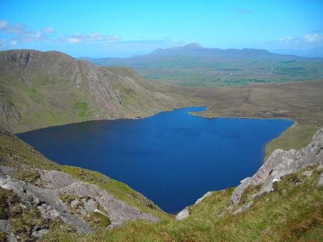 Zdjęcia: Gory Partry, Hrabstwo Mayo, Benwee, IRLANDIA