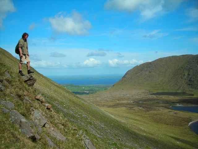 Zdjęcia: Gory Partry, Hrabstwo Mayo, Zejscie, IRLANDIA
