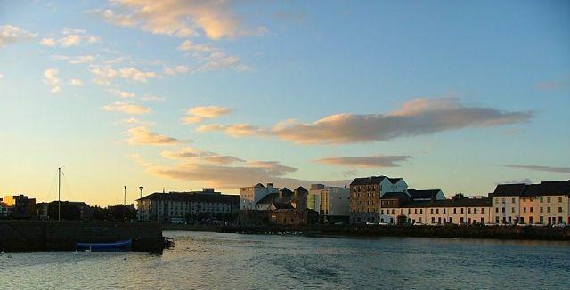 Zdjęcia: Galway, zachodnia Irlandia, Spanish Arch, IRLANDIA