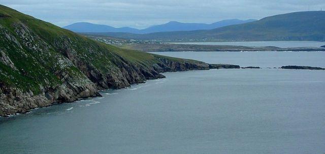 Zdjęcia: ACHILL ISLAND, zachodnia Irlandia, Dooagh, IRLANDIA