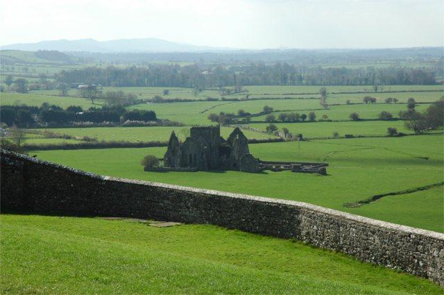 Zdjęcia: okolice Cashel, ruiny opactwa, IRLANDIA