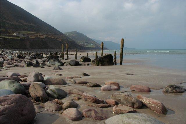 Zdjęcia: Ring of Kerry, Kerry, plaża, IRLANDIA