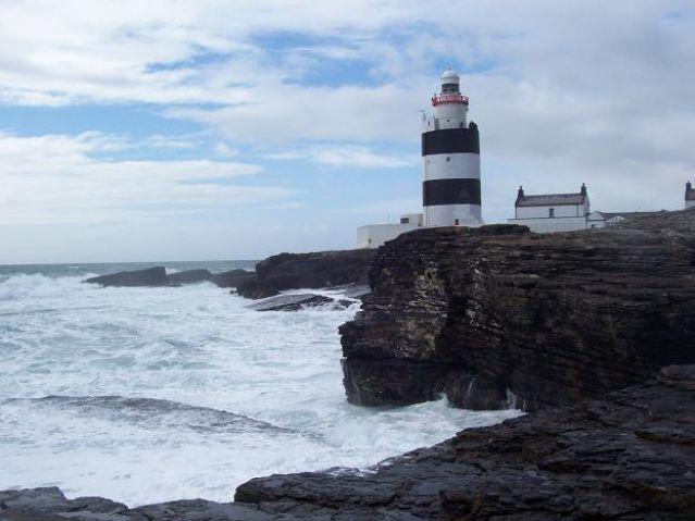 Zdj�cia: Head Hook, latarnia, IRLANDIA