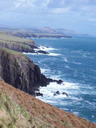 Zdj�cia: Ring of Kerry, klify, IRLANDIA
