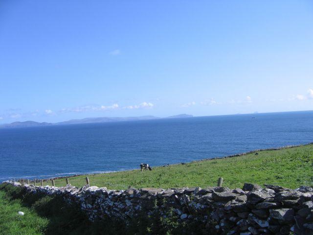 Zdjęcia: Ceann Tra, Płw.Dingle, Widok na ocean z Ceann Tra, IRLANDIA