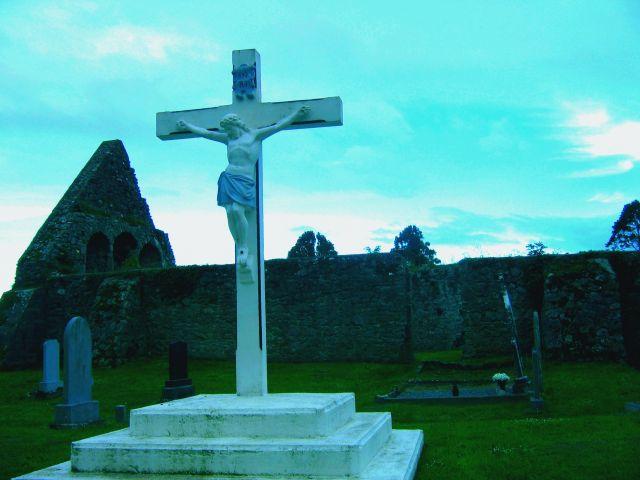 Zdj�cia: Newtown, Hrabstwo Limerick, Stary cmentarz w Newtown, IRLANDIA
