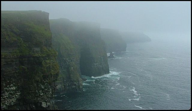 Zdjęcia: Co.Clare, Cliffs of Mohers- w kolorze, IRLANDIA