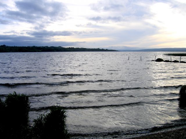 Zdjęcia: Lough Derg, Hrabstwo Limerick, Nad zalewem Lough Derg,okolice Ballina, IRLANDIA