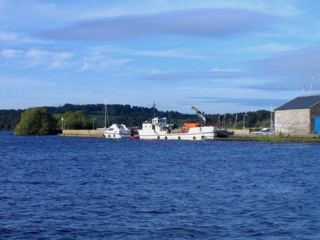 Zdjęcia: Dromineer, Hrabstwo Limerick, Port w Dromineer, IRLANDIA