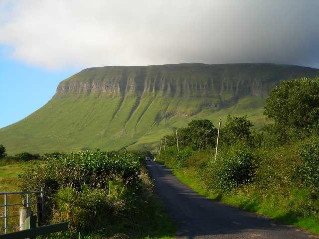Zdjęcia: Sligo, Hrabstwo Sligo, Ben Bulben, IRLANDIA