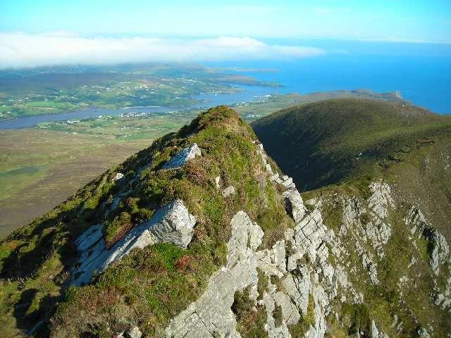 Zdjęcia: Slieve League, Hrabstwo Donegal, Slieve League 1, IRLANDIA