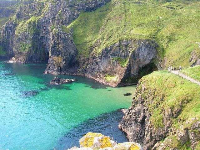 Zdjęcia: Carrick-a-rede, Irlandia Pln., Carrick-a-rede, IRLANDIA