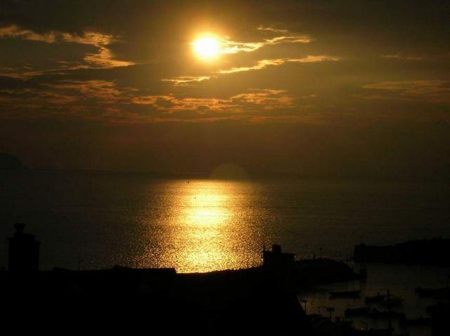 Zdjęcia: Portrush, Irlandia Pln, zachod słońca nad Portrush, IRLANDIA