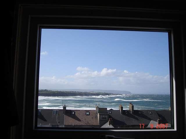 Zdjęcia: Portrush, Irlandia Pln., widok z mieszkanka:), IRLANDIA
