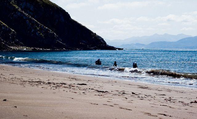 Zdjęcia: Irlandia, okolice Inch, zatoka4, IRLANDIA