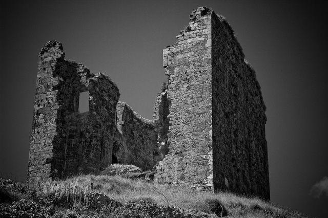 Zdjęcia: okolice Inch, County Kerry, ruiny, IRLANDIA