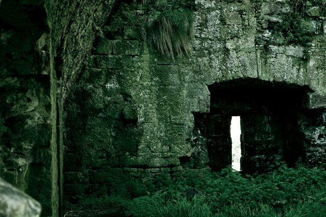 Zdj�cia: okolice Inch, County Kerry, ruiny3, IRLANDIA