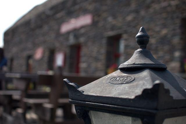 Zdj�cia: gdzie� w okolicach Inch, County Kerry, lampa, IRLANDIA