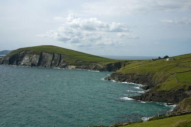 Zdjęcia: gdzieś w okolicach Inch, County Kerry, zatoczka, IRLANDIA