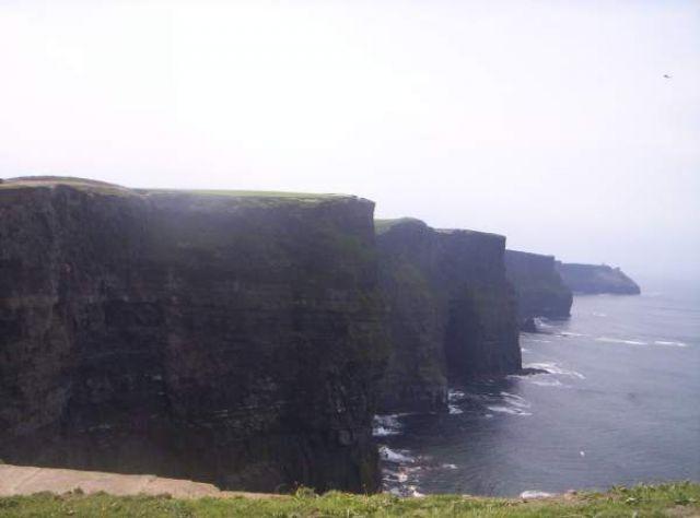 Zdj�cia: Cliffs of Moher, Klify - tak widzi je wi�kszo��..., IRLANDIA