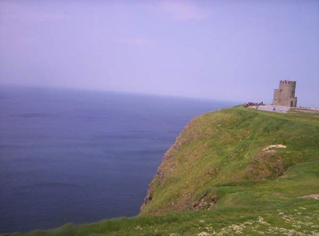 Zdjęcia: Cliffs of Moher, O'Brien Tower, IRLANDIA