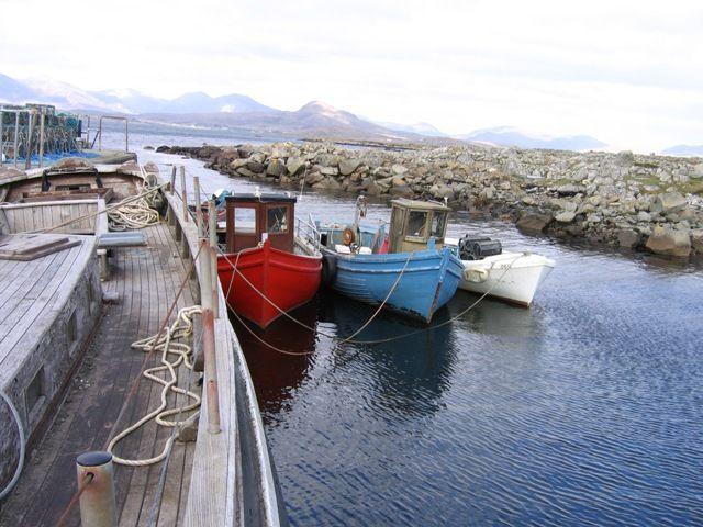 Zdjęcia: gdzies na poludniowym wybrzezu, lodki, IRLANDIA