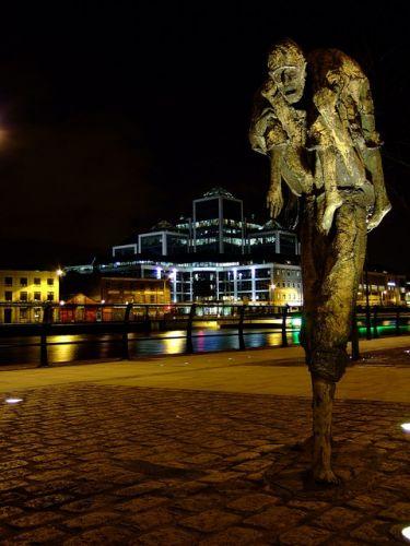 Zdjęcia: Dublin, Dublin, ku pamięci Wielkiego Głodu , IRLANDIA