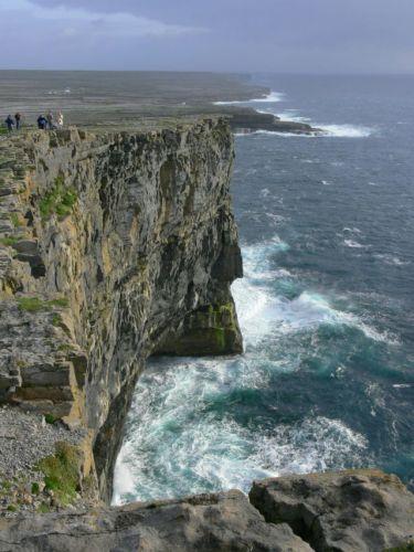 Zdj�cia: Inis Mor, Wyspy Aran, Klify, IRLANDIA