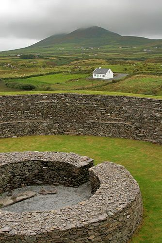 Zdjęcia: półwysep Kerry, Fort, IRLANDIA