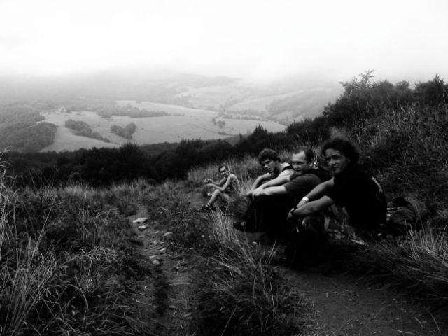 Zdjęcia: góry wicklow , zmęczeni , IRLANDIA