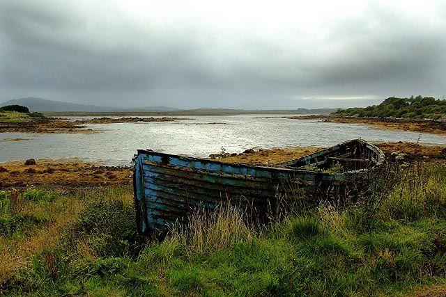 Zdjęcia: wybrzeże Sligo, już niepotrzebna.., IRLANDIA