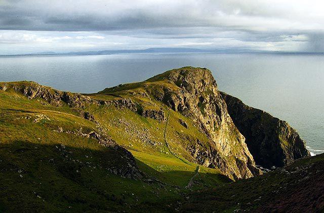 Zdjęcia: Slieve League, Donegal, klify, IRLANDIA