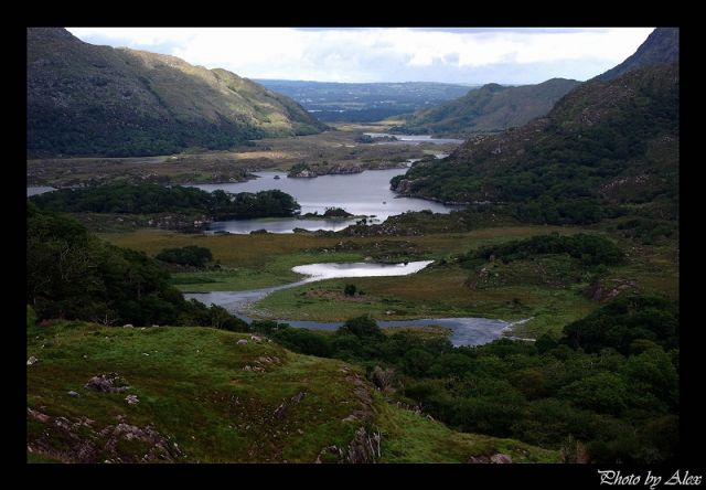 Zdjęcia: Ring of Kerry, co.Kerry, The Ladies View, IRLANDIA