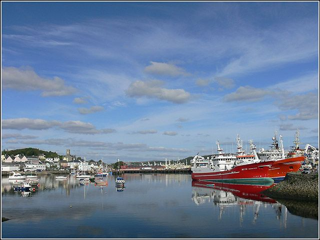 Zdjęcia: KILLYBEGS, DONEGAL, PORT, IRLANDIA