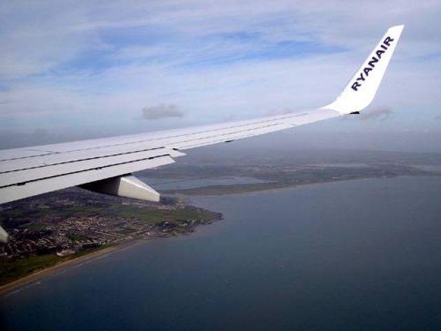 Zdjęcia: Dublin, Wybrzeże Irlandii z pokładu samolotu, IRLANDIA