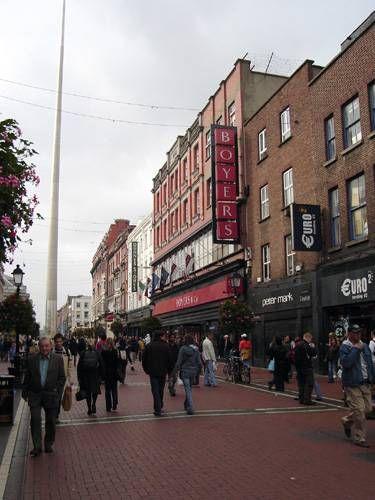 Zdjęcia: Dublin, Fragment O'Connell Street, IRLANDIA