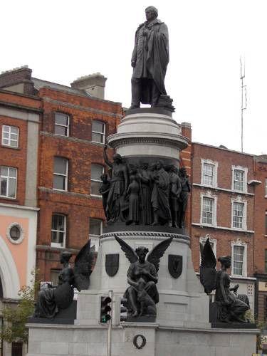 Zdj�cia: Dublin, Pomnik Daniela O'Connell, IRLANDIA