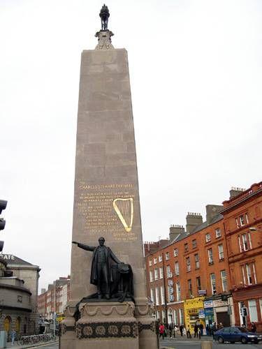 Zdjęcia: Dublin, Kolejny pomnik na O'Connell Street, IRLANDIA