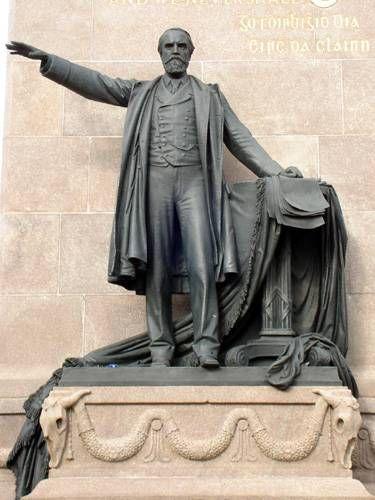 Zdjęcia: Dublin, Zsadnicza postać pomnika, IRLANDIA