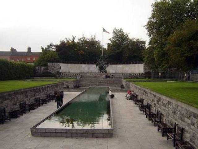 Zdjęcia: Dublin, Park ku czci zrywu irlandzkiego w 1916 r., IRLANDIA