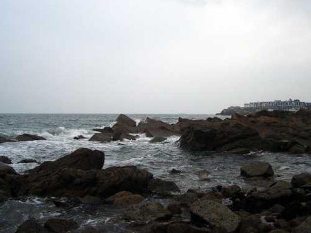 Zdjęcia: Dun Laoghaire, Sztormowa pogoda, IRLANDIA